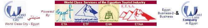 Giza. World Class Services of the Egyptian Tourist Industry - Cities with NO access to Sea